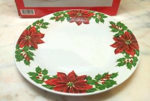 Christmas Holiday Style Dinner Plate Replacement Piece