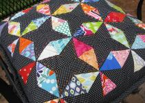 Christmas July Kaleidoscope Pillow 627handworks