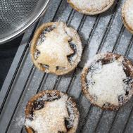 Christmas Mince Pies Stock