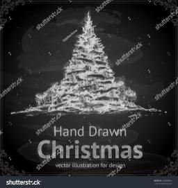 Christmas Tree Balls Gifts Vector Design Stock