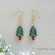 Christmas Tree Jewelry Making Bead Kit Diy Supplies