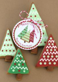Christmas Trees Gingerbread Giveaway Glorious