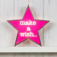 Classic Star Light Box Make Wish Haus