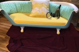 Claw Foot Bath Tub Sofa Industrialdesignrush Etsy