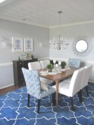 Client Reveal Cobalt White Dining Room Michaela