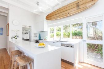 Coastal Style Beach House Kitchen