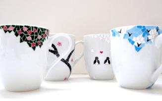 Coffee Mug Design Hand Made Cool