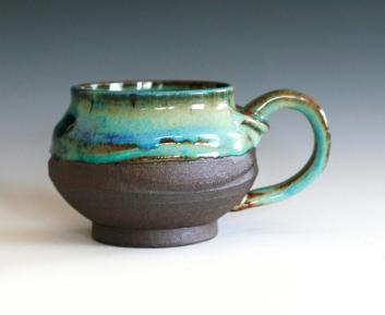 Coffee Mug Handmade Ceramic Cup Stoneware Ocpottery
