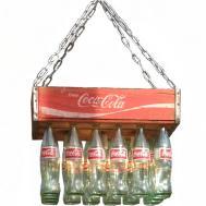 Coke Crate Chandelier