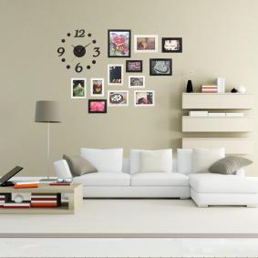 Collage Wall Frame Display Modern Home