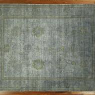 Collection Blue Wool Area Rug