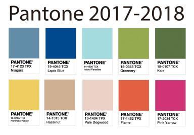 Color Trends 2017 2018 Pantone Back Brain