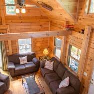 Columbia County Log Cabin Crisp Clean Interior