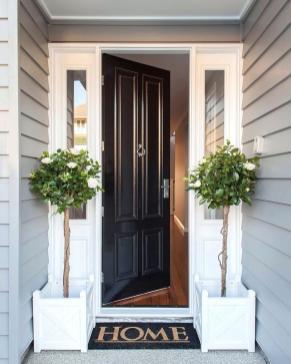 Commendable Country Front Door Doors Diy Christmas