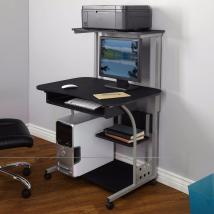 Computer Desks Home Small Spaces Wheels Office Storage