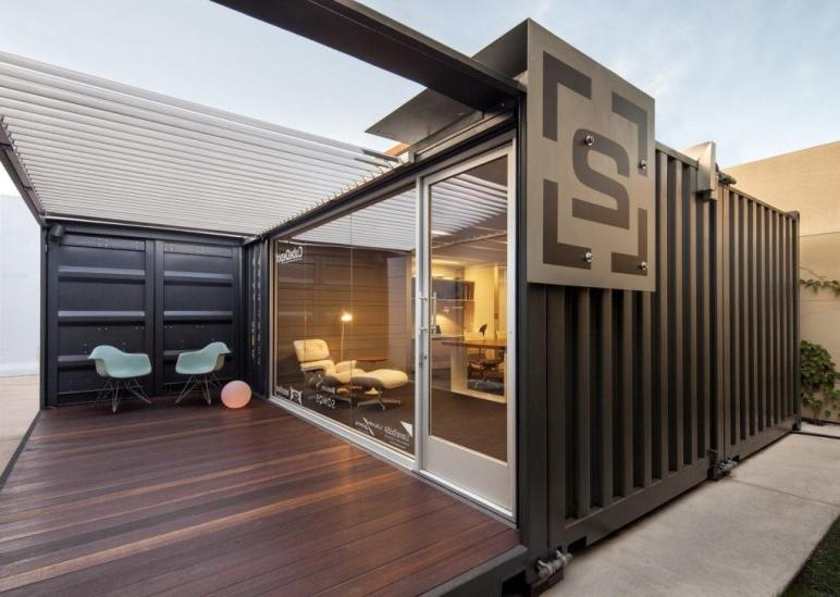 Container Office Design Architecture Modern Home