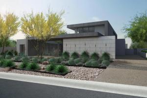 Contemporary Desert Architecture Modern Landscape