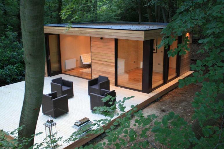 Contemporary Garden Studios Modern Eco Friendly Design