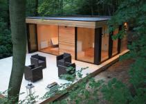 Contemporary Garden Studios Modern Eco Friendly Design