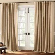 Contemporary Kitchen Curtains Sliding Glass Door Window