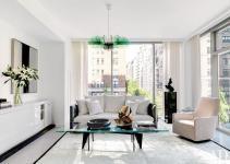 Contemporary Living Room Jennifer Post Design Inc