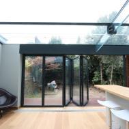 Contemporary Split Levels Exterior House Design Grass