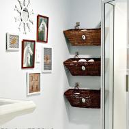 Cool Diy Bathroom Wall Art Decor Ideas