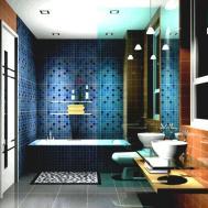 Cool Mosaic Bathroom Wall Tile Ideas Also Home Design
