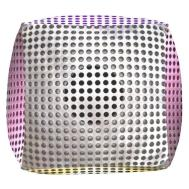 Cool Speakers Options Cube Pouf Zazzle