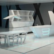Corian Kitchen Island Tron Designs