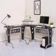 Corner Computer Desk Home Office Table Furniture