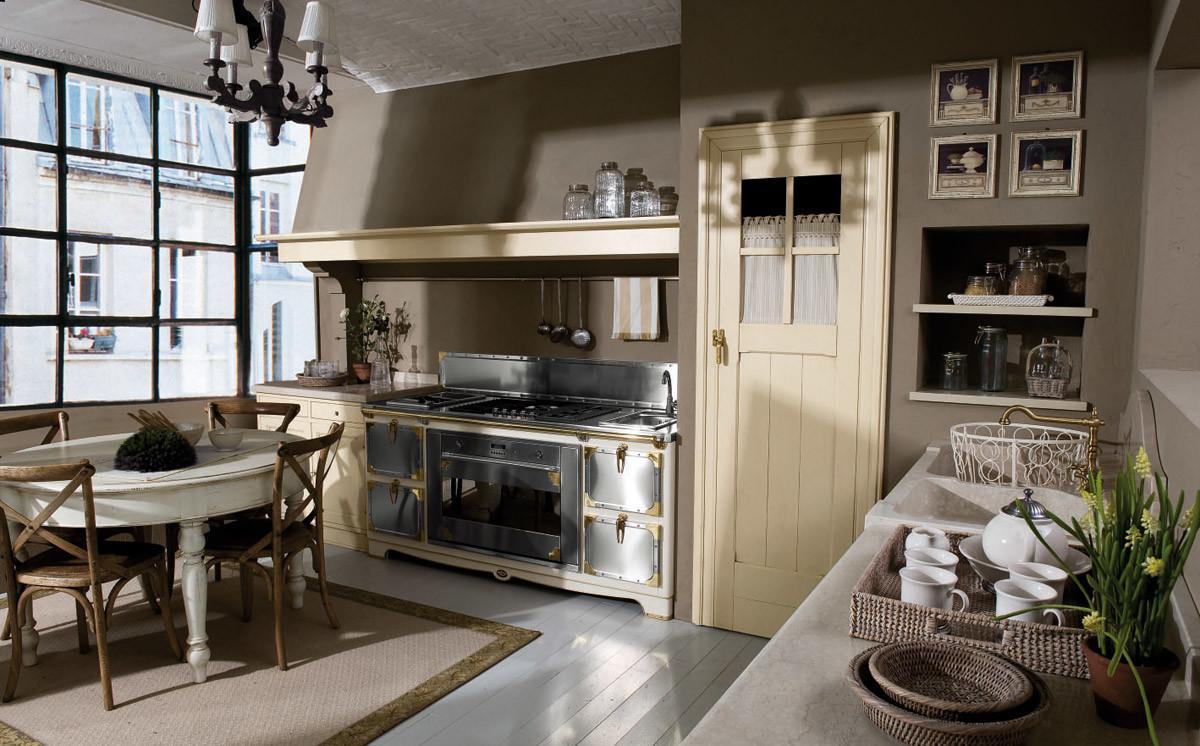 I vantaggi della cucina country. Crazy Chic Vintage Kitchen Design Marchi That Are Simply Amazing Photographs Decoratorist