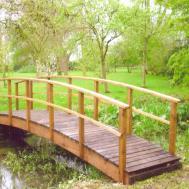 Country Style Garden Bridges Gardens