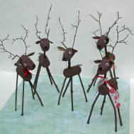 Crack Dawn Crafts Reindeer Cork Craft