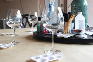 Craft Redux Diy Painted Wine Glasses Eat Drink