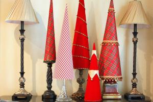 Crafter Budget Cone Shaped Christmas Tree Decor