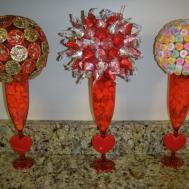 Crafty Compo Valentine Centerpieces