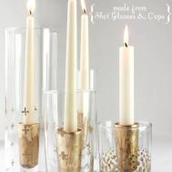 Crafty Diy Candle Holder Ideas Warm Your Home