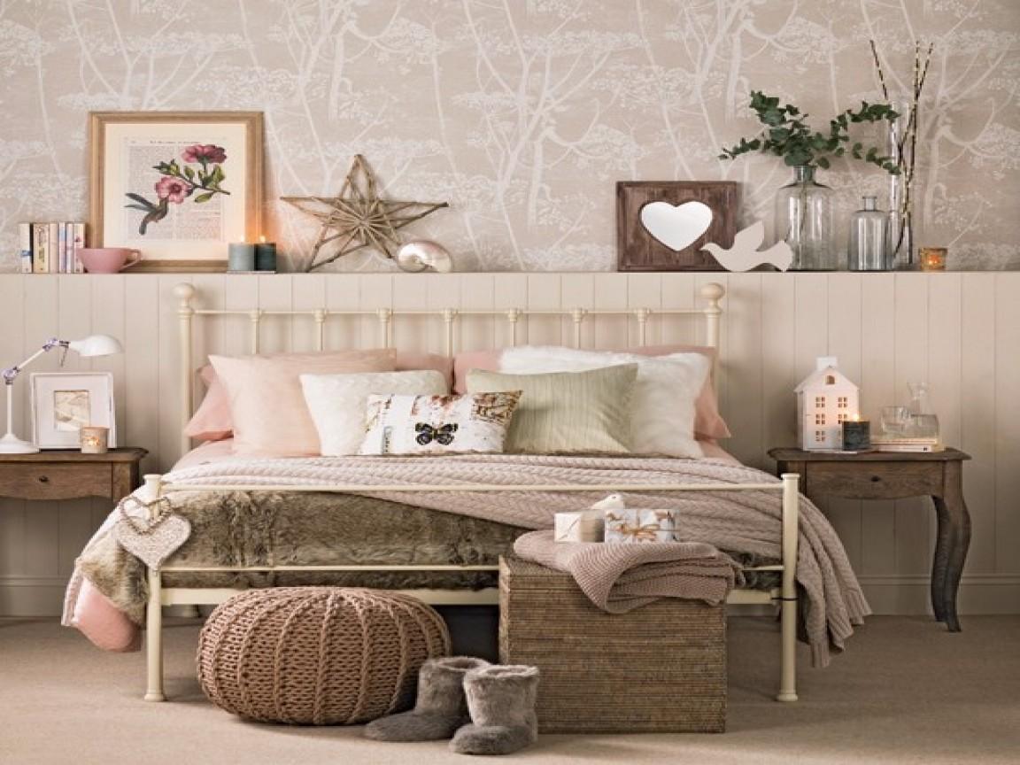 Cream Bedrooms Ideas Vintage Bedroom Tumblr Rustic - Decoratorist
