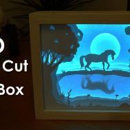 Create Paper Cut Light Box Diy Project