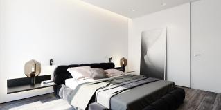 Creating Minimalist Black White Apartment Decorating