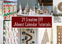 Creative Diy Advent Calendars Hazel Gold Designs