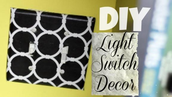 Creative Diy Contact Paper Decorate Light Switch