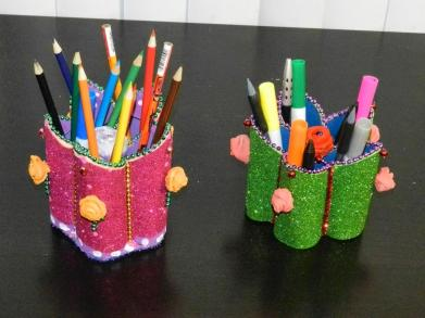 Creative Diy Crafts Pen Stand
