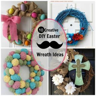 Creative Diy Easter Wreath Ideas Chic Adventure