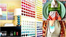Creative Fun Paint Chip Diy Projects