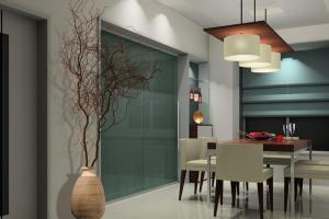 Creative Lighting Design Small Dining Room