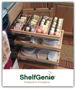 Creative Spice Rack Designs Asheville Homes Shelfgenie