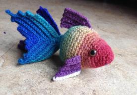 Crochet Goldfish Patterns Watch Video Tutorial