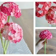 Crochet Hydrangea Flower Pattern